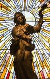 Apostle Jude Thaddeus statue Stock Photo