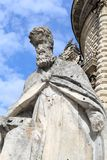 The Apostle Peter. Church Dubrovitsy. Stock Photo