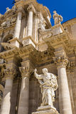 Apostle statue in Cathedral Church in Syracuse, Sicily Stock Photography
