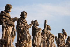 Apostles at Church of St. Peter and Paul in Krakow Stock Photos