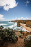 12 Apostles. The 12 apostles at Great Ocean Road, Australia Royalty Free Stock Photography