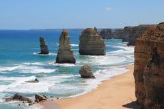 12 Apostles. On the great ocean road in Victoria, Australia Royalty Free Stock Photos