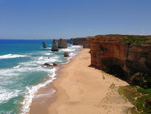 12 Apostles. On the great ocean road in Victoria, Australia Stock Photography