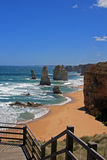 12 Apostles on the Great Ocean Road in Victoria Australia Royalty Free Stock Photo