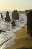Apostles. Port Campbell, Victoria, Australia. Sunset at Port Campbell, Victoria Australia Royalty Free Stock Image