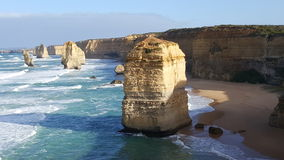 12 Apostles. The possibly most famous attraction of the Great Ocean Road Stock Photography