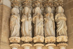 Apostles statues Stock Photography