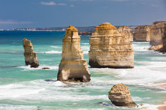 The 12 Apostles Royalty Free Stock Photography