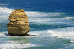 12 Apostlesl澳大利亚海景 免版税库存照片