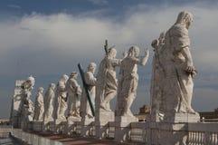apostołów Jesus tylni widok Fotografia Stock