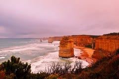 12 apostoł w Melbourne Australia obrazy stock