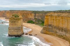 12 apostoli, grande strada dell'oceano, Victoria Australia Oct 2017 Fotografia Stock Libera da Diritti