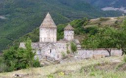 apostolic armenian church Τοπίο βουνών, το μοναστήρι Στοκ Εικόνες