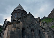 Apostolic church in geghard monastery Royalty Free Stock Photography