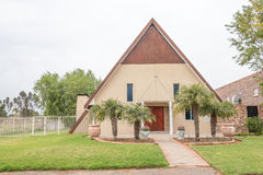 Apostolic Faith Mission Church in Vredendal Stock Photography