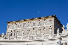Apostolic Palace Piazza San Pietro - Rome Royalty Free Stock Image