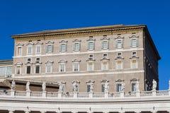 Apostolic Palace Piazza San Pietro - Rome Royalty Free Stock Photos