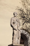 Apostolo Peter con le chiavi della scultura di paradiso Fotografia Stock Libera da Diritti