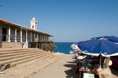Apostolos Andreas Monastery in Northern Cyprus Stock Photos
