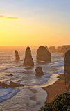12 apostołów oceanu Wielka droga Australia Obrazy Stock