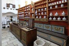 Apotek i Franciscan kloster i Dubrovnik arkivfoton
