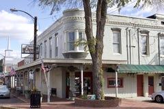 Apotek i Holly Springs Mississippi arkivfoton