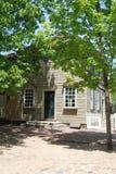 Apotekare på koloniinvånaren Williamsburg Royaltyfria Foton