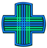 apoteksymbolvektor Royaltyfri Fotografi