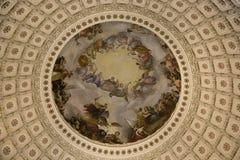 Apoteosis de Washington fotografía de archivo
