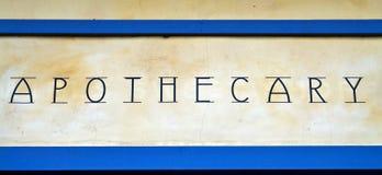 apothecary Arkivbild