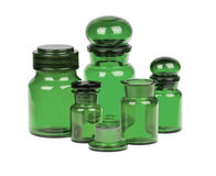 Apothecary bottles Royalty Free Stock Images