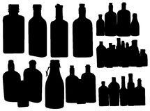 Apothecary bottles. Stock Image