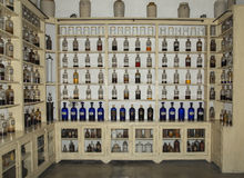 Apothecary cabinet Stock Images