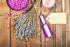 Apothecary. Decoration nobody natural pharmaceutical lavendel royalty free stock photo
