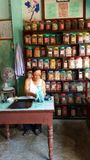 Apothecary In Hoi An. An apothecary in Hoi An, Vietnam stock photo
