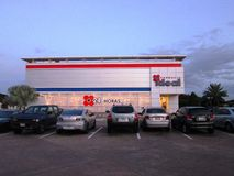 Apothekengebäude, ideal Lizenzfreies Stockbild