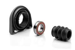Apoye el eje impulsor del coche de la impulsión de ruedas posteriores Fotografía de archivo libre de regalías