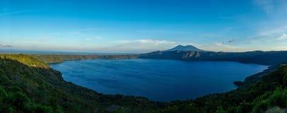 Apoyo Lake / Laguna de Apoyo in Nicaragua. royalty free stock photos