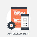 App发展 免版税库存图片