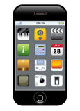 app图标电话 库存照片