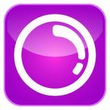 App αναζήτησης εικονίδιο Στοκ Φωτογραφία
