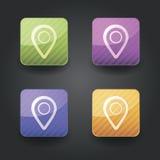 App εικονίδια Στοκ φωτογραφία με δικαίωμα ελεύθερης χρήσης