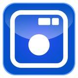 App καμερών εικονίδιο Στοκ Φωτογραφίες