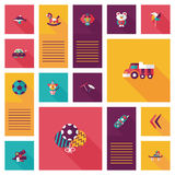 App παιχνιδιών παιδιών επίπεδο ui υπόβαθρο, eps10 Στοκ φωτογραφίες με δικαίωμα ελεύθερης χρήσης
