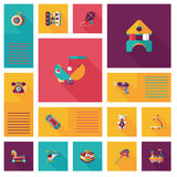 App παιχνιδιών παιδιών επίπεδο ui υπόβαθρο, eps10 Στοκ εικόνα με δικαίωμα ελεύθερης χρήσης