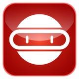 App ρομπότ εικονίδιο Στοκ Εικόνα