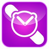 App συναγερμών εικονίδιο Στοκ Φωτογραφίες