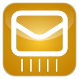 App ταχυδρομείου εικονίδιο Στοκ φωτογραφία με δικαίωμα ελεύθερης χρήσης