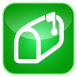 App ταχυδρομικών θυρίδων εικονίδιο Στοκ εικόνες με δικαίωμα ελεύθερης χρήσης