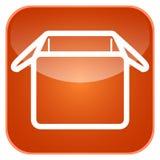 App ταχυδρομικών θυρίδων εικονίδιο Στοκ εικόνα με δικαίωμα ελεύθερης χρήσης